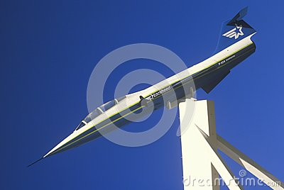 Navy Fighter Plane Editorial Photo