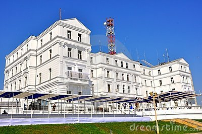 Navy headquarters in Romania Editorial Stock Image