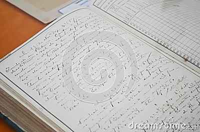 Navy logbook