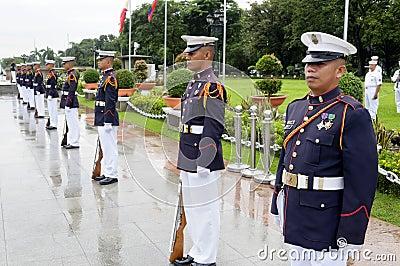 Navy Men Editorial Stock Photo