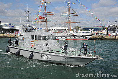 Navy patrol boat Editorial Stock Photo