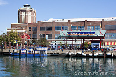 Navy Pier in Chicago Editorial Image