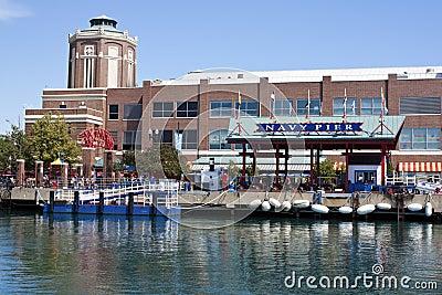 Navy Pier in Chicago Editorial Image
