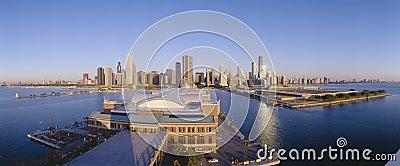 Navy Pier in  Chicago Editorial Photo