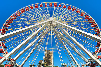 Navy Pier Chicago Ferris Wheel