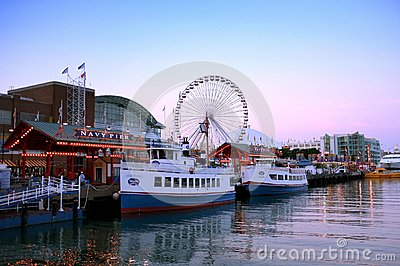 Navy pier Chicago Editorial Photography