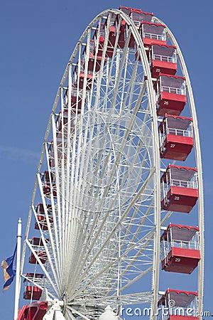 Free Navy Pier Ferris Wheel Royalty Free Stock Photos - 27540018