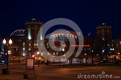 Navy Pier Editorial Image