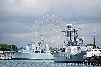 Navy Ships, Portsmouth dockyard