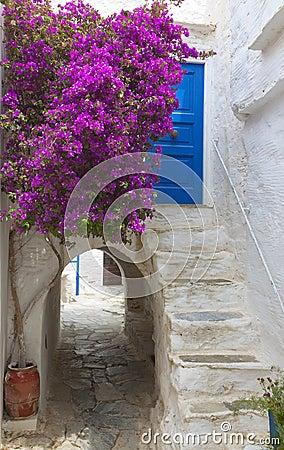 Naxos island in Greece