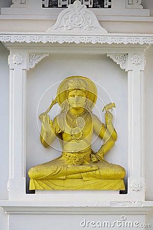 Nayake Buddhist Temple Statue