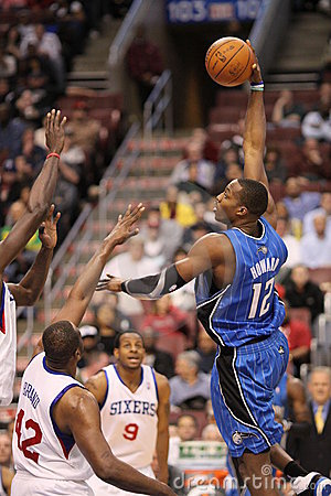 NBA Dwight Howard Editorial Photo