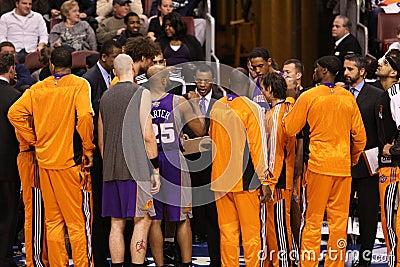 NBA Phoenix Suns Editorial Photo