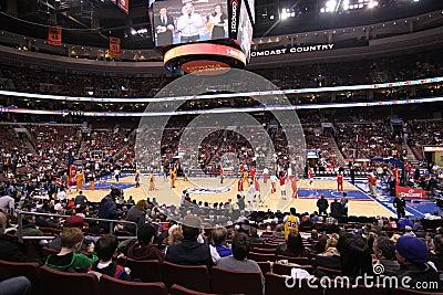 NBA Phoenix Suns v Philadelphia 76ers Editorial Image