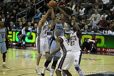 NBA Rudy Gay Editorial Photo