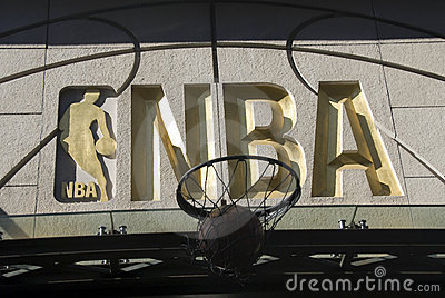 NBA symbol Editorial Stock Photo