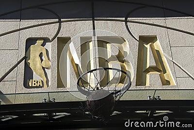 NBA symbol Editorial Stock Photo