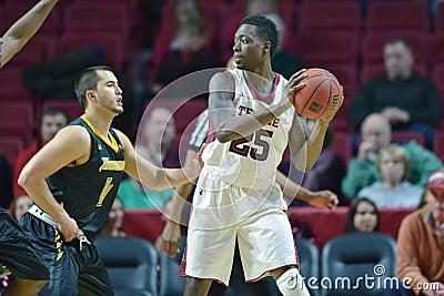 2014 NCAA Basketball - Towson @ Temple Game action