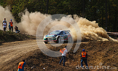 42nd Bosphorus Rally Editorial Image