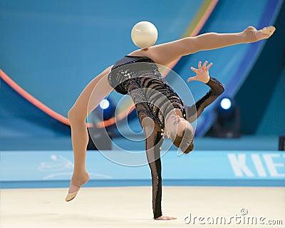 32nd World Championship in Rhythmic Gymnastics Editorial Stock Image