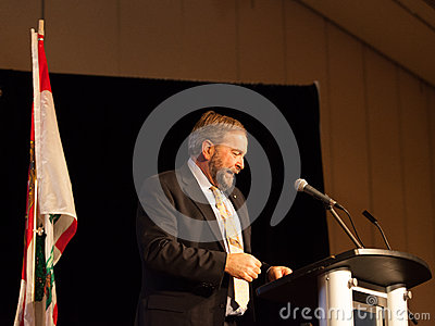 NDP Federal Opposition Leader Thomas Mulcair Editorial Stock Photo