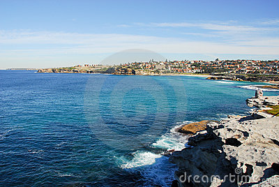 Near the beach Bondi, Sydney, Australia