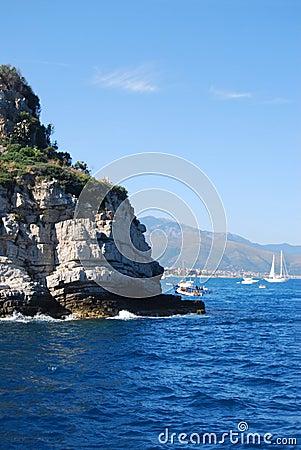 Near Gallinara island