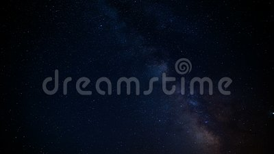 Nebula Milky Way stock footage