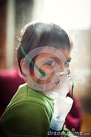 Nebuliser respiratory therapy