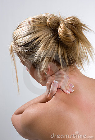 Free Neck And Back Pain Stock Photo - 8341440