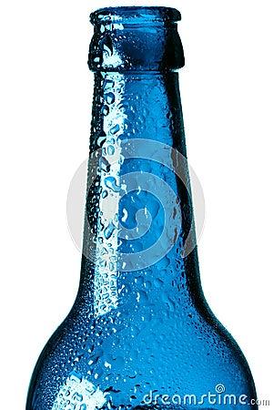 Neck of a bottle