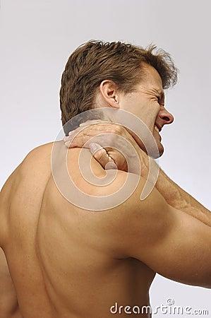 Free Neck Strain Injury Stock Image - 12345791