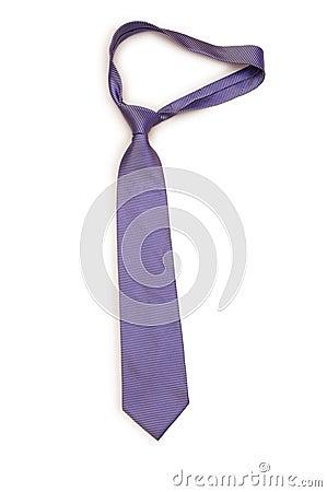 Neck tie isolated