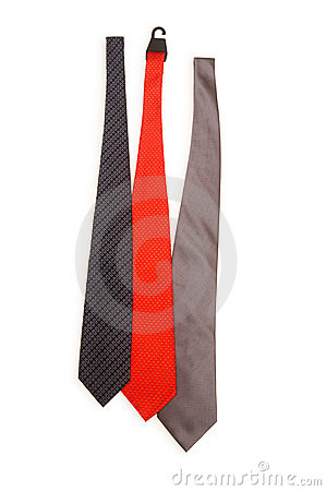Neck tie isolated