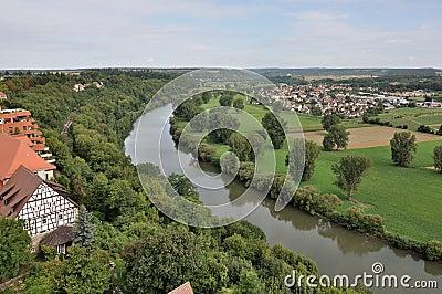 Neckar river, bad wimpfen