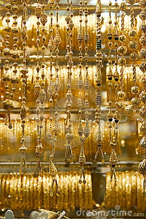 Necklaces, Dubai Gold Souq