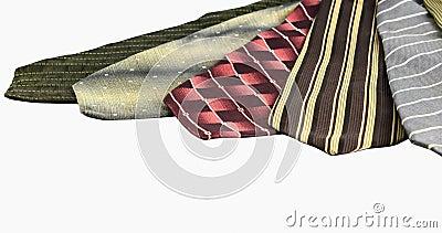 Neckties stack