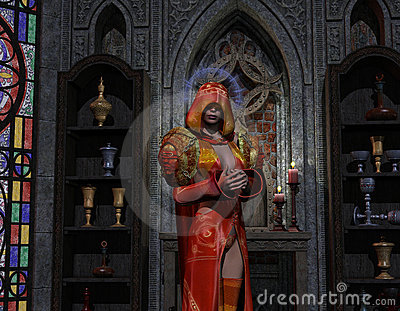 Necromancer at the altar