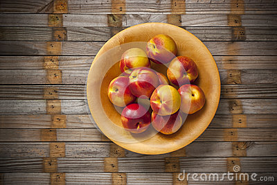 Nectarine Nectarines Bowl Fruit