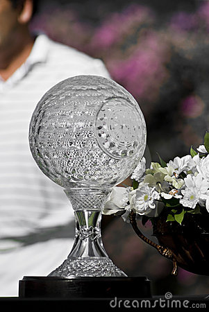 Nedbank Golf Challenge Seniors Trophy Editorial Stock Photo