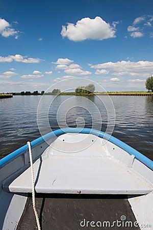 Nederlandse rivier Eem