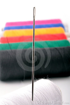 Needle Stock Image - Image: 10677551