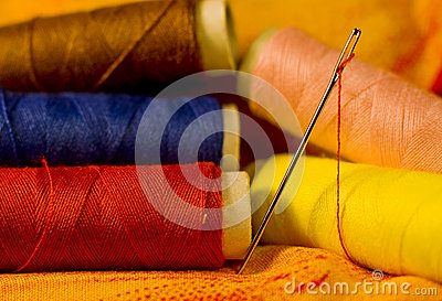 Needle on Cloth