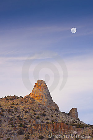 Needle Rock Moon