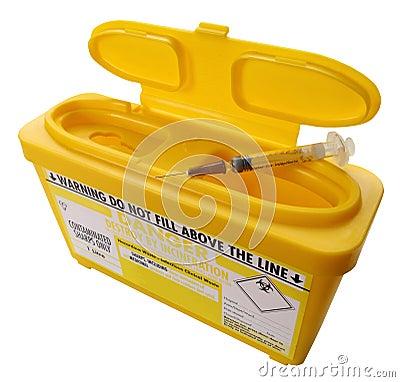 Free Needle-stick Sharps Infection Risk Stock Photos - 16329633