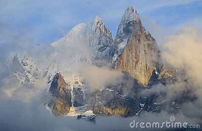 The Needles of Chamonix