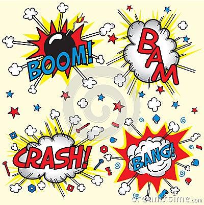 Neerstorting, Klap, Boom en Klap!