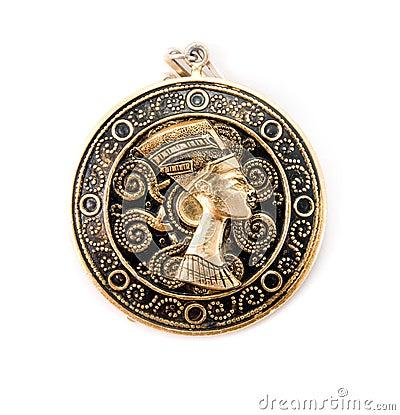 Free Nefertiti Amulet Stock Photo - 6159980