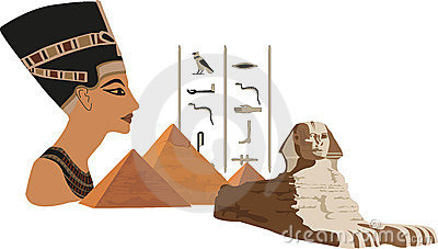 Nefertiti and the Pyramids
