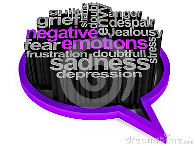 Negative Gefühle